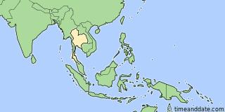 Thailand Zeitzone