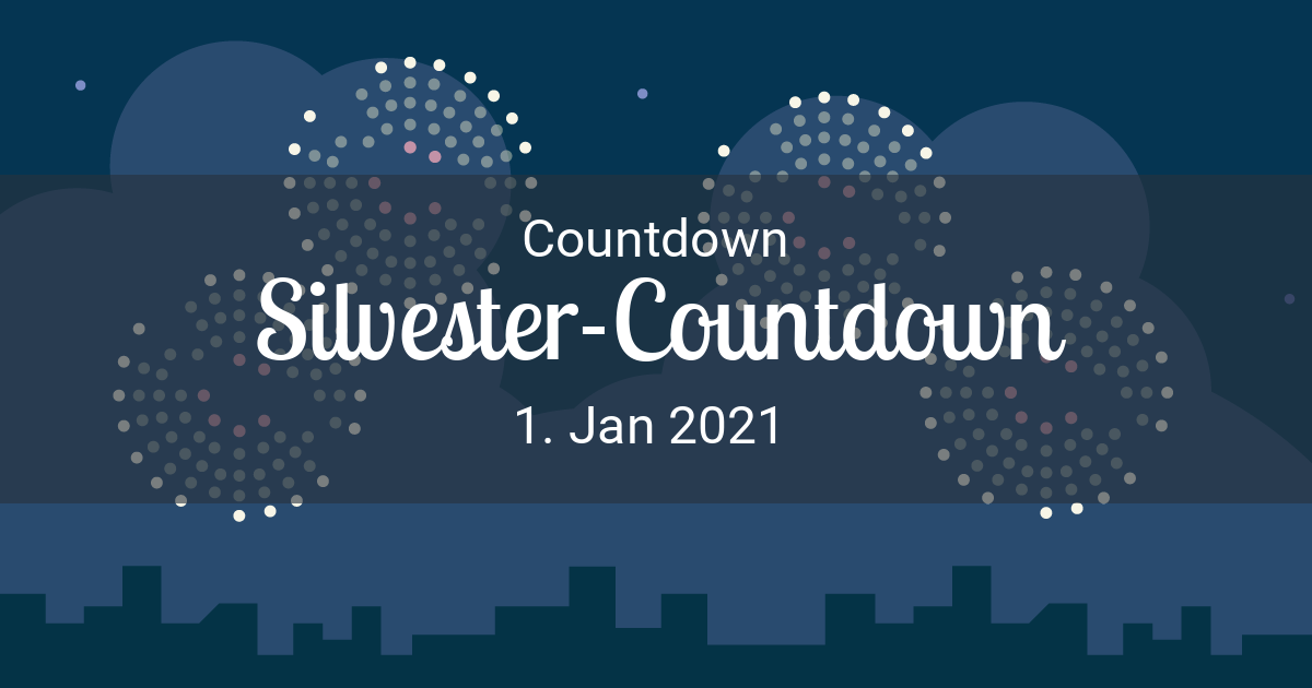 Silvester 2021 Countdown