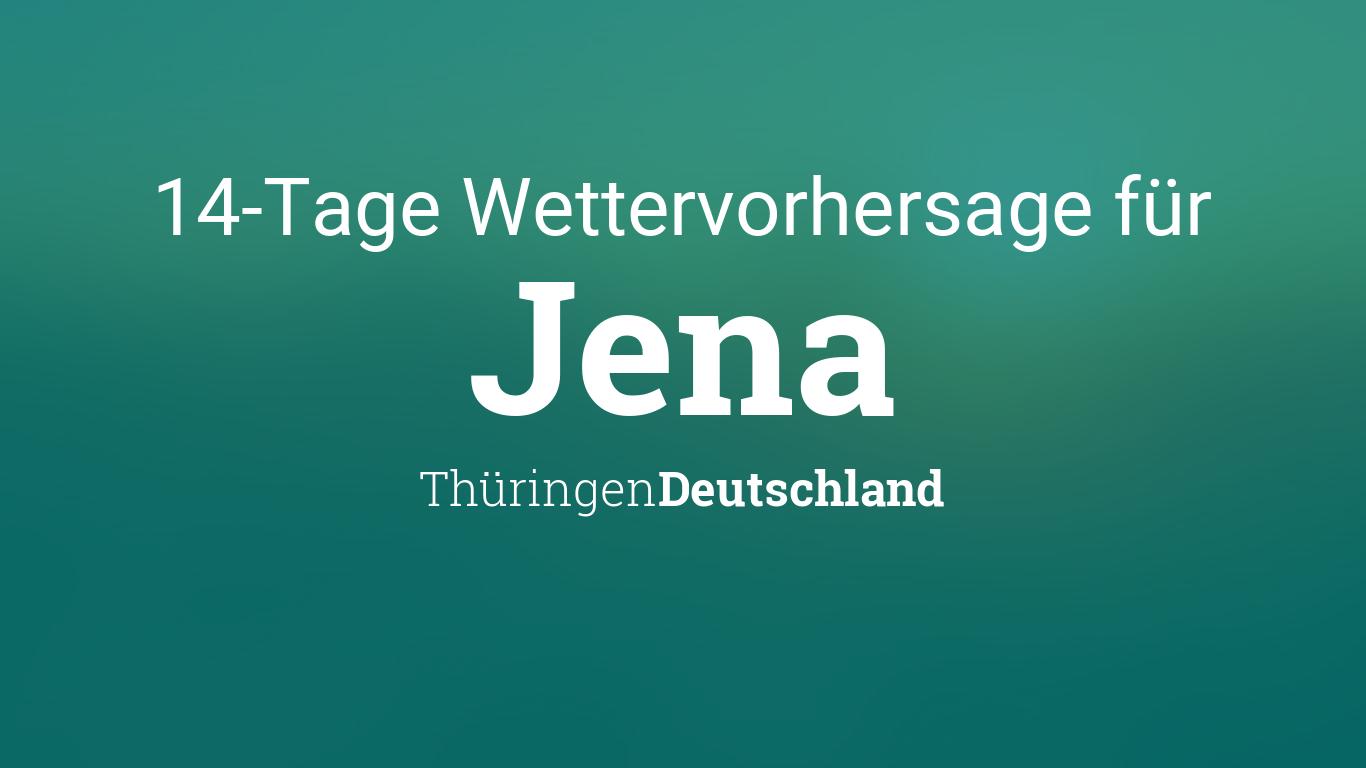 Wetter Jena 7 Tage