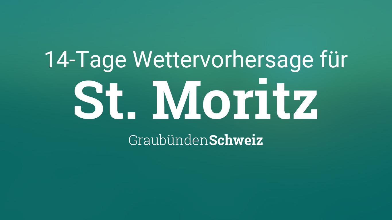 Wetter St. Moritz 14 Tage