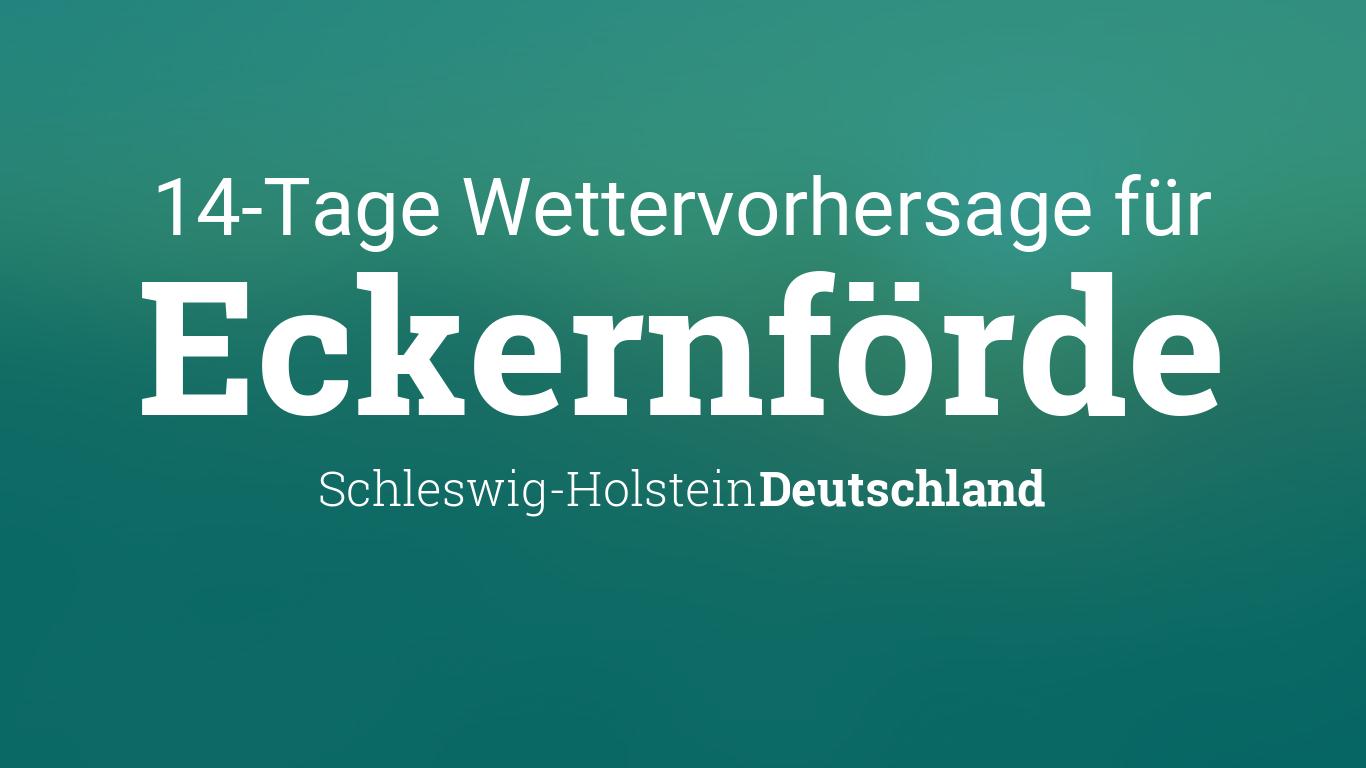 Wetter Schleswig 14 Tage