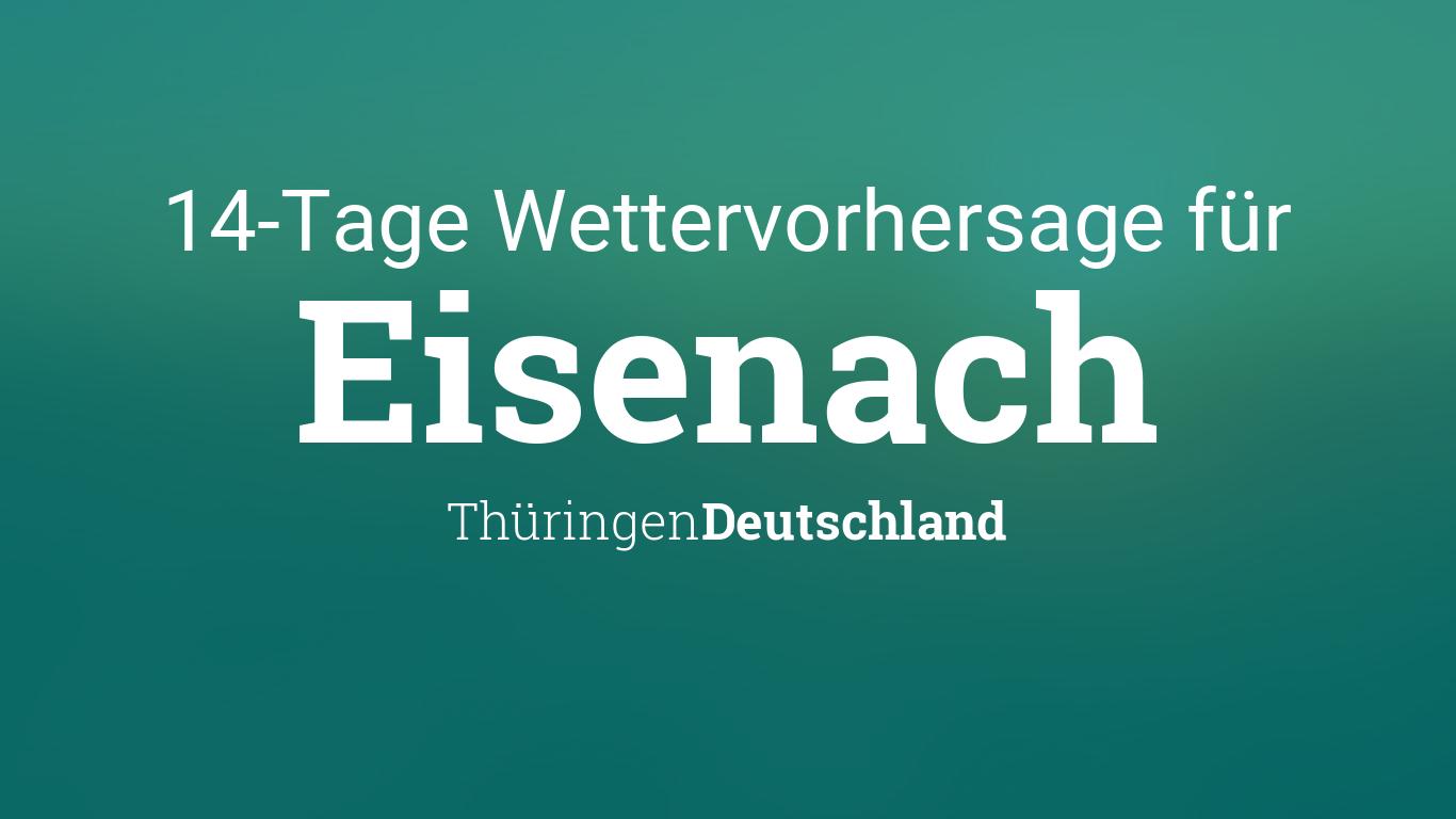 Jena Wetter 14 Tage
