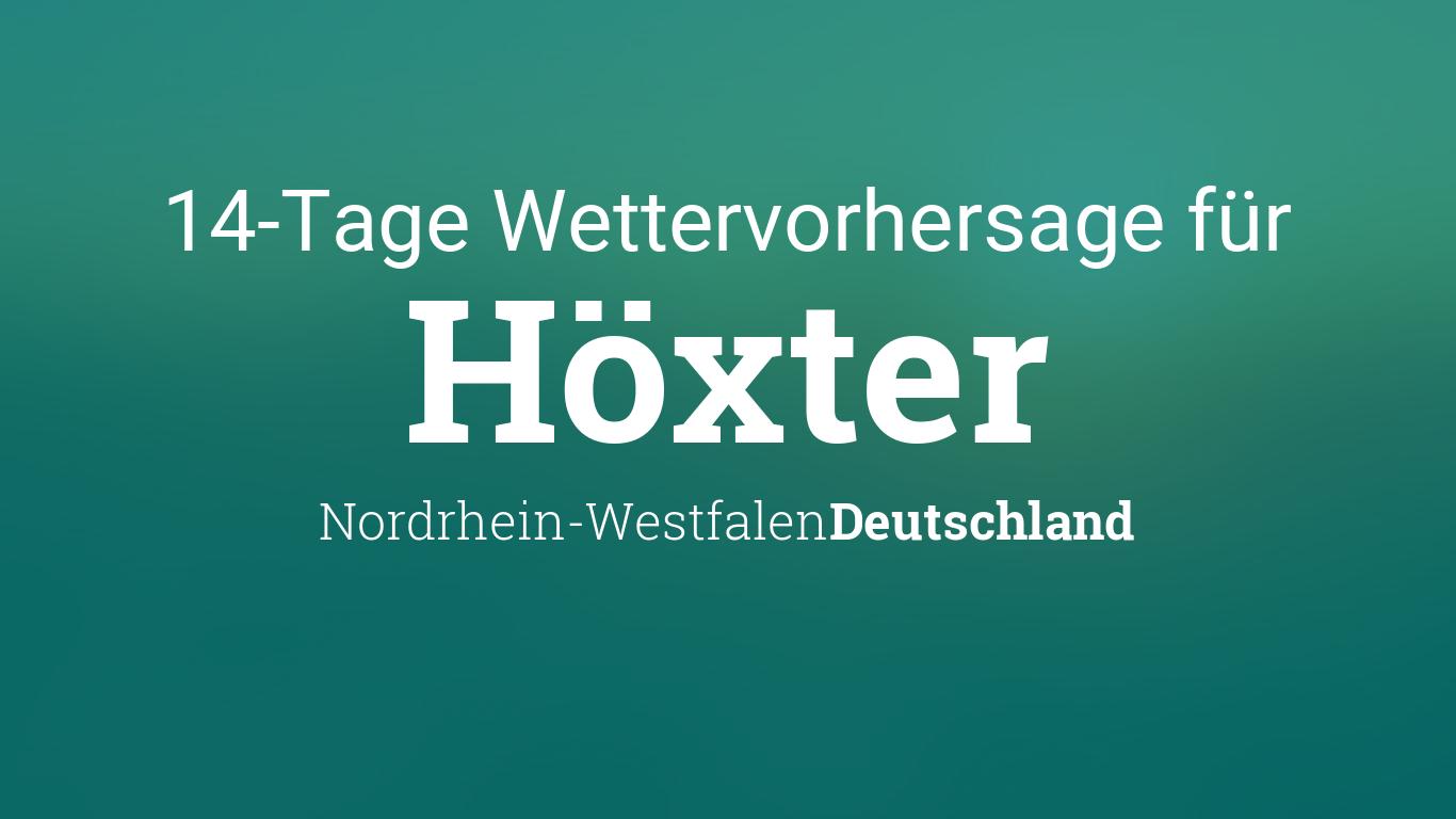 Wetter In Höxter