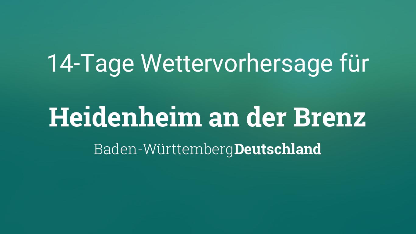 Heidenheim An Der Brenz Wetter