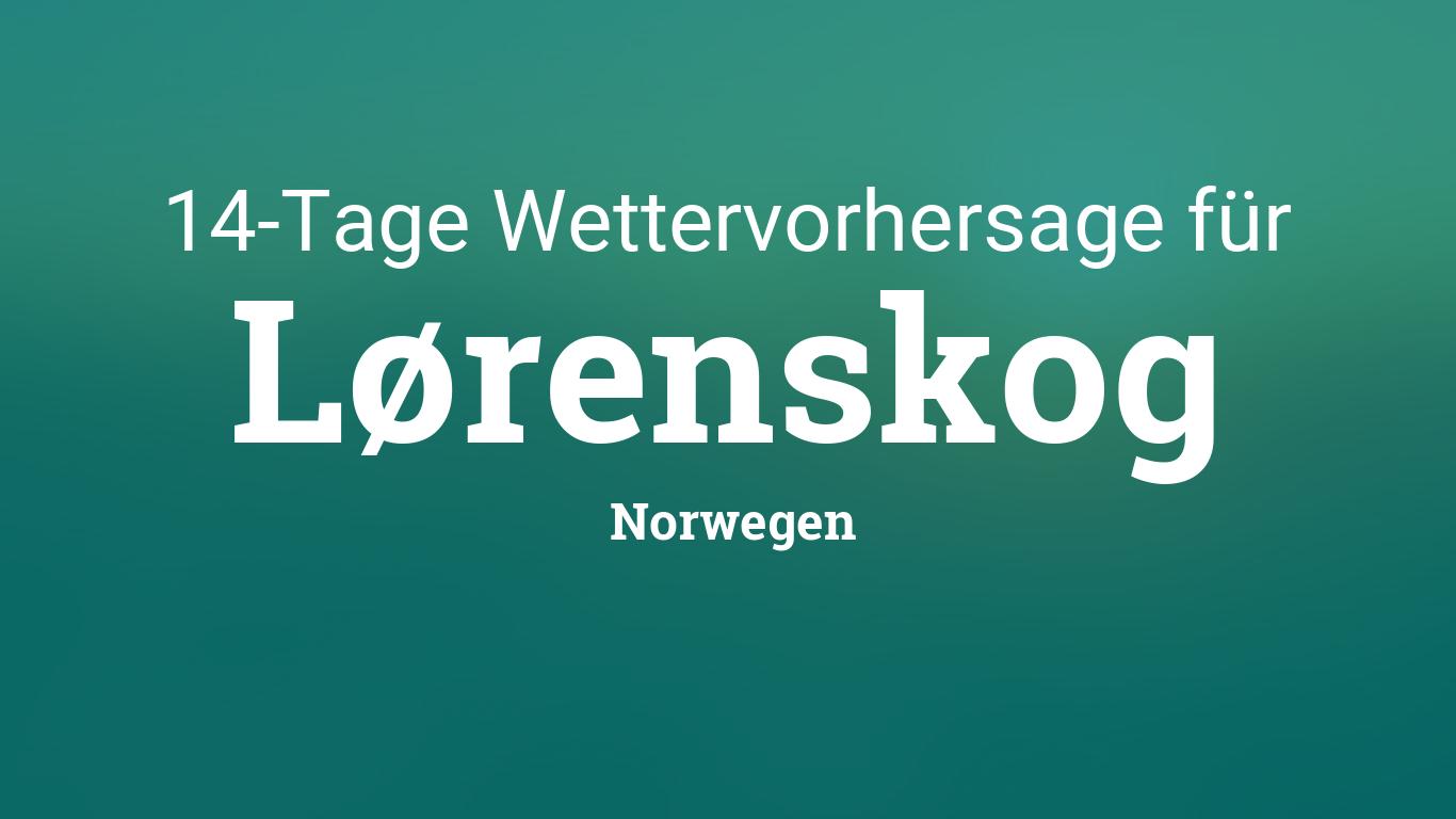 Norwegen Wettervorhersage 14 Tage