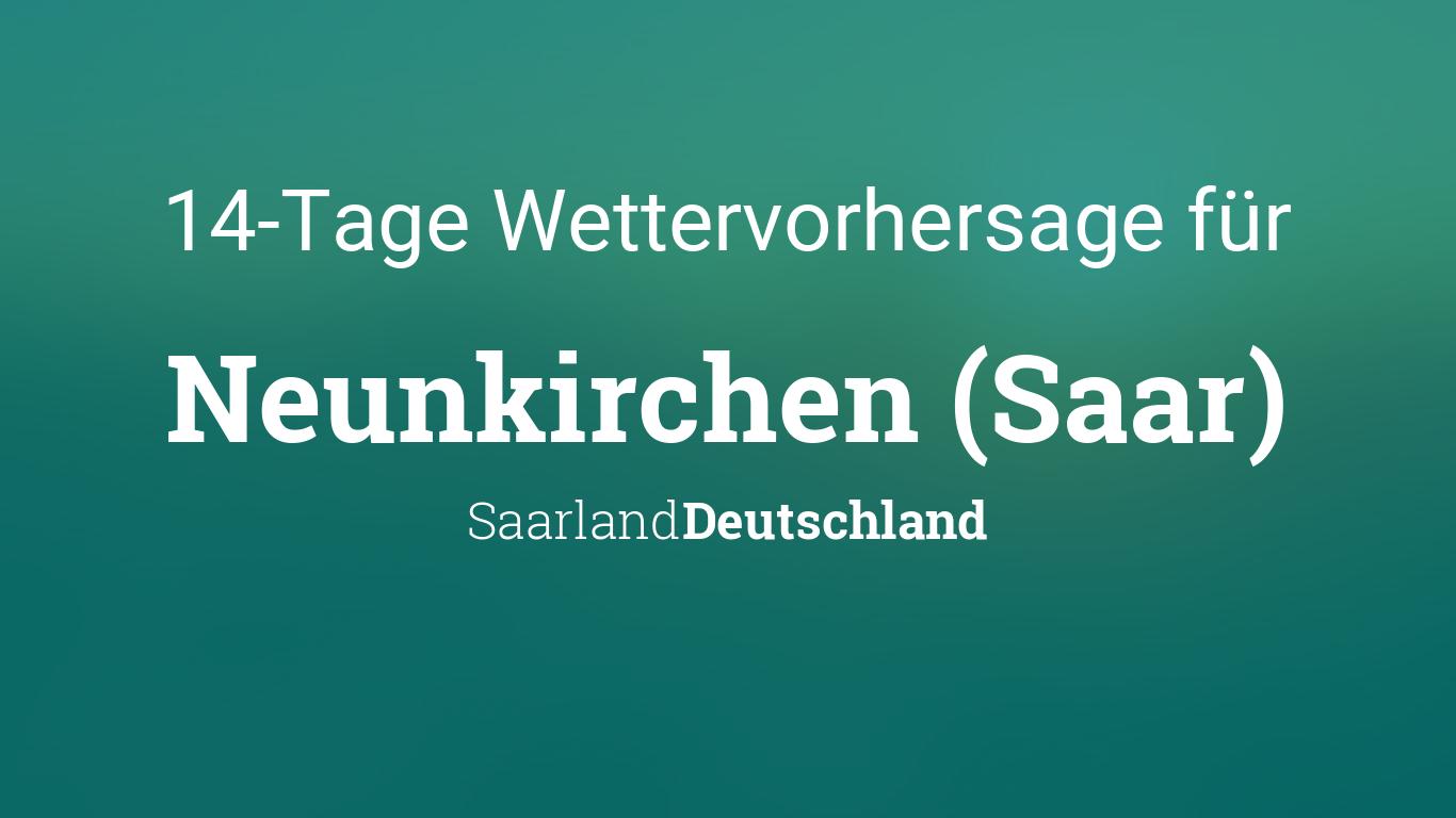 Wetter 14 Tage Saarland