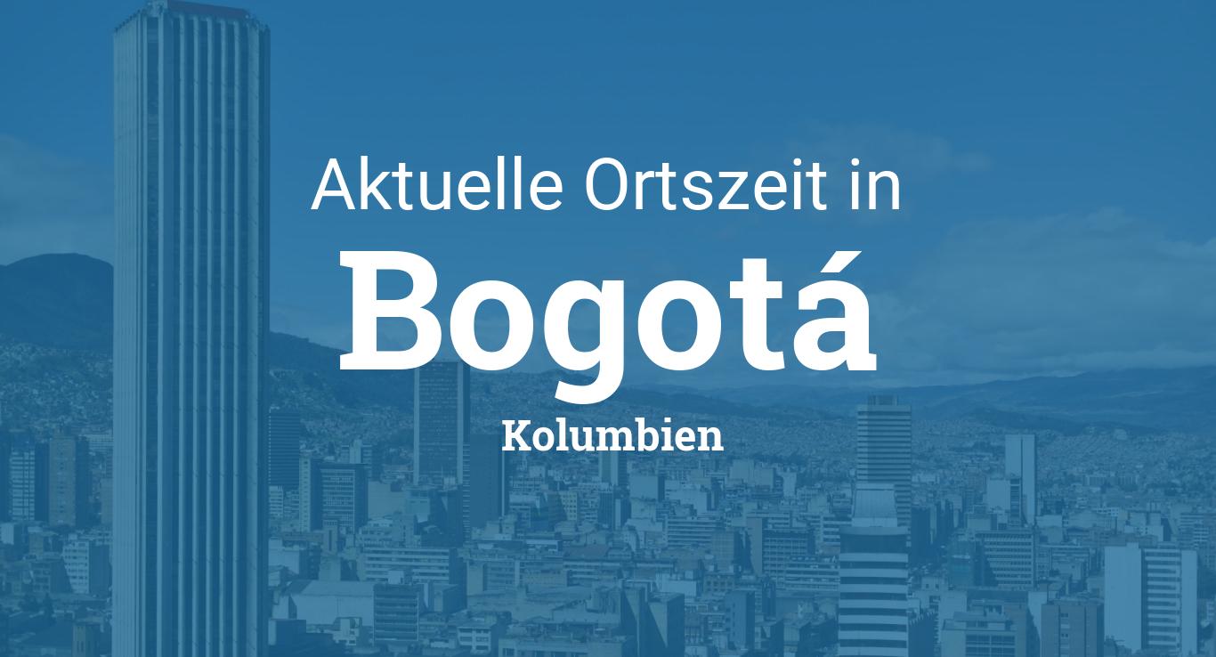 Uhrzeit Bogota