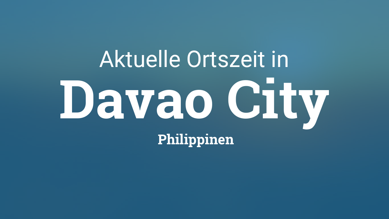 Dating-Ort in davao