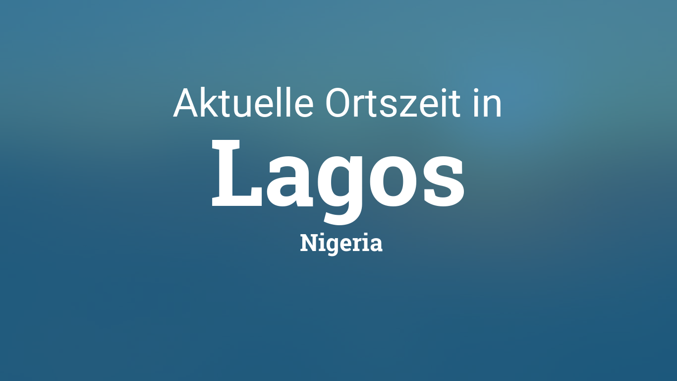 Nigeria Uhrzeit