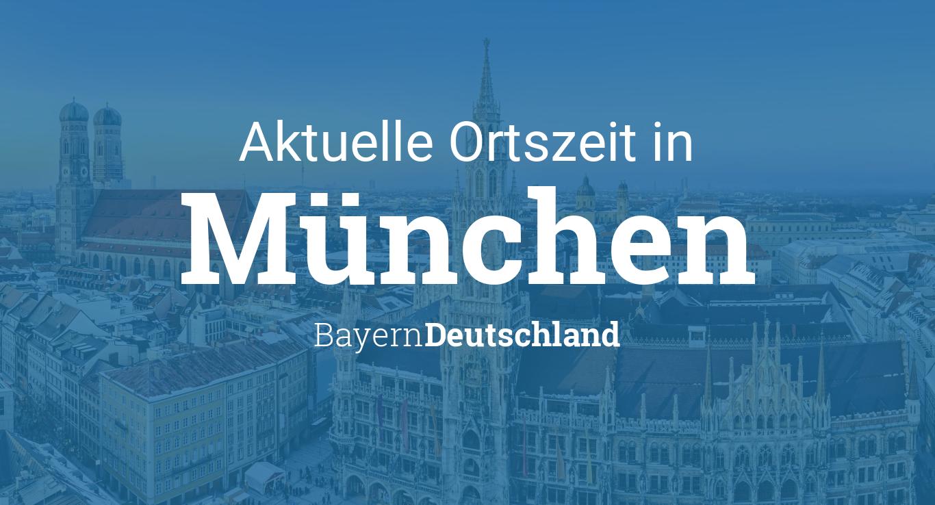 Uhrzeit München