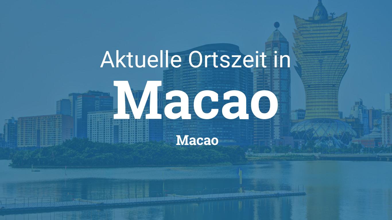 Macau Uhrzeit