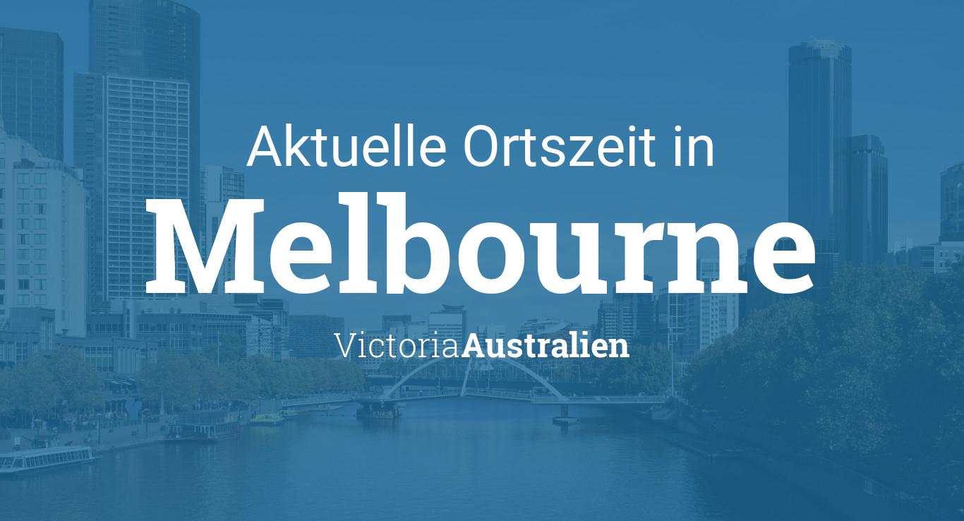 Uhrzeit Australien Melbourne