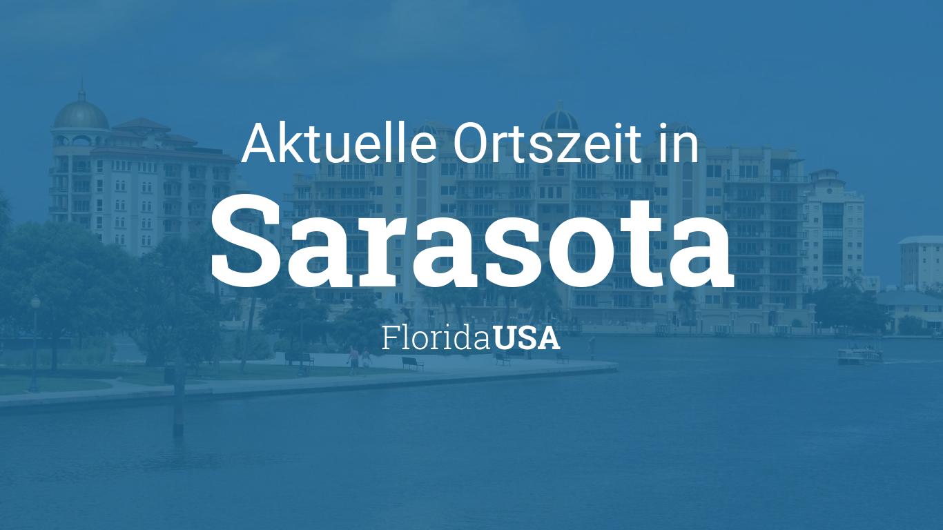 Uhrzeit Sarasota Florida Usa