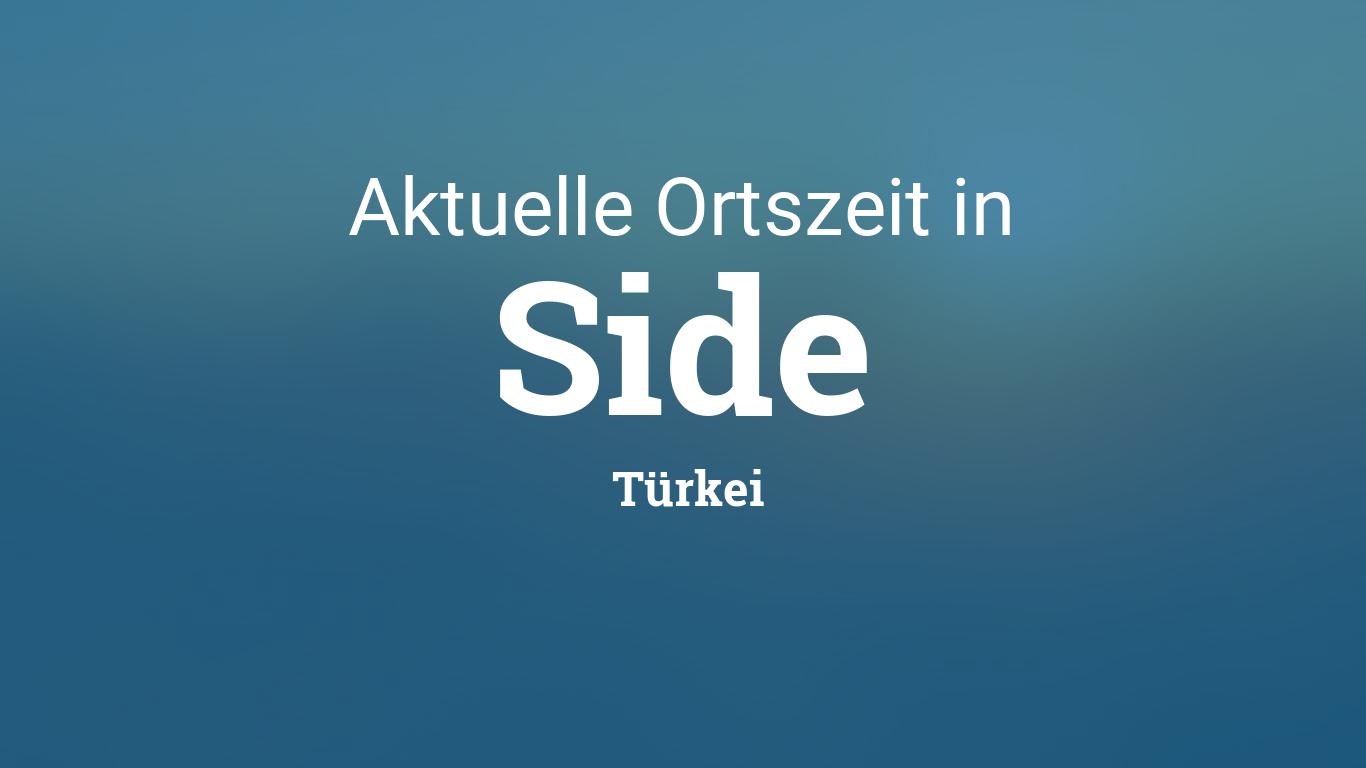 Türkei Wetter Side