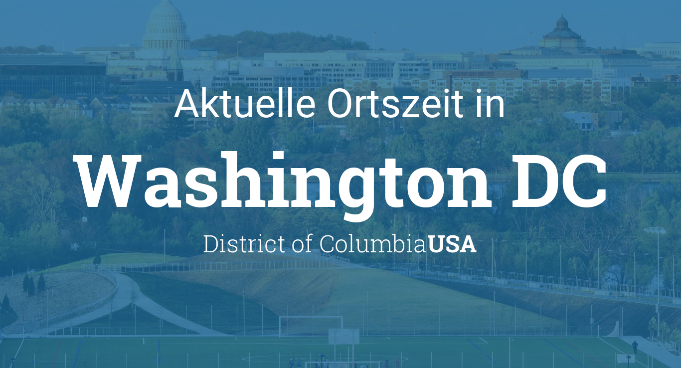 Uhrzeit In Washington