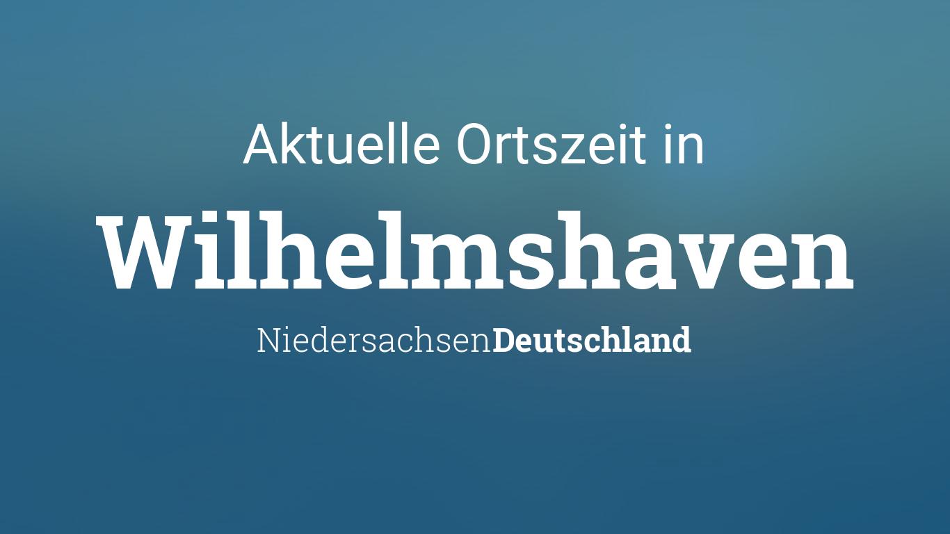 Wilhelmshaven Wetter 14 Tage