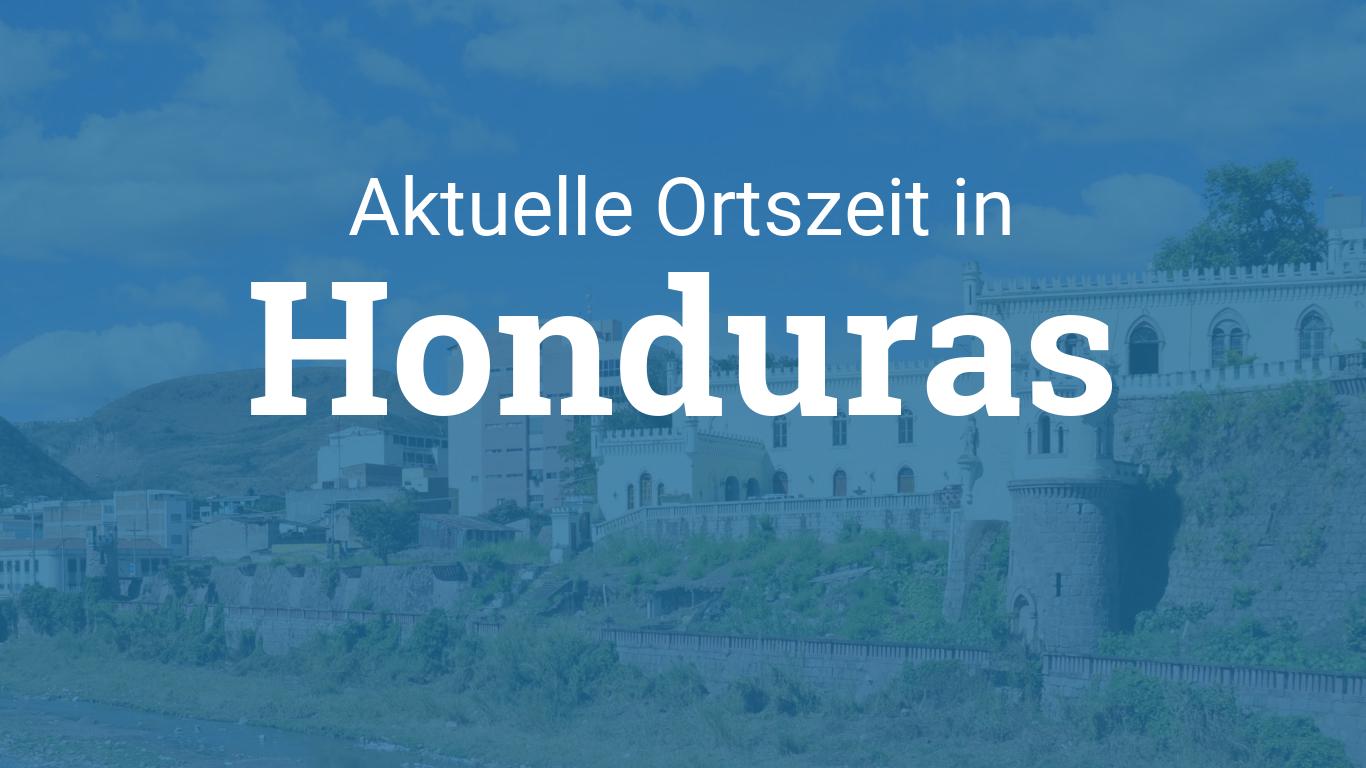 Uhrzeit Honduras