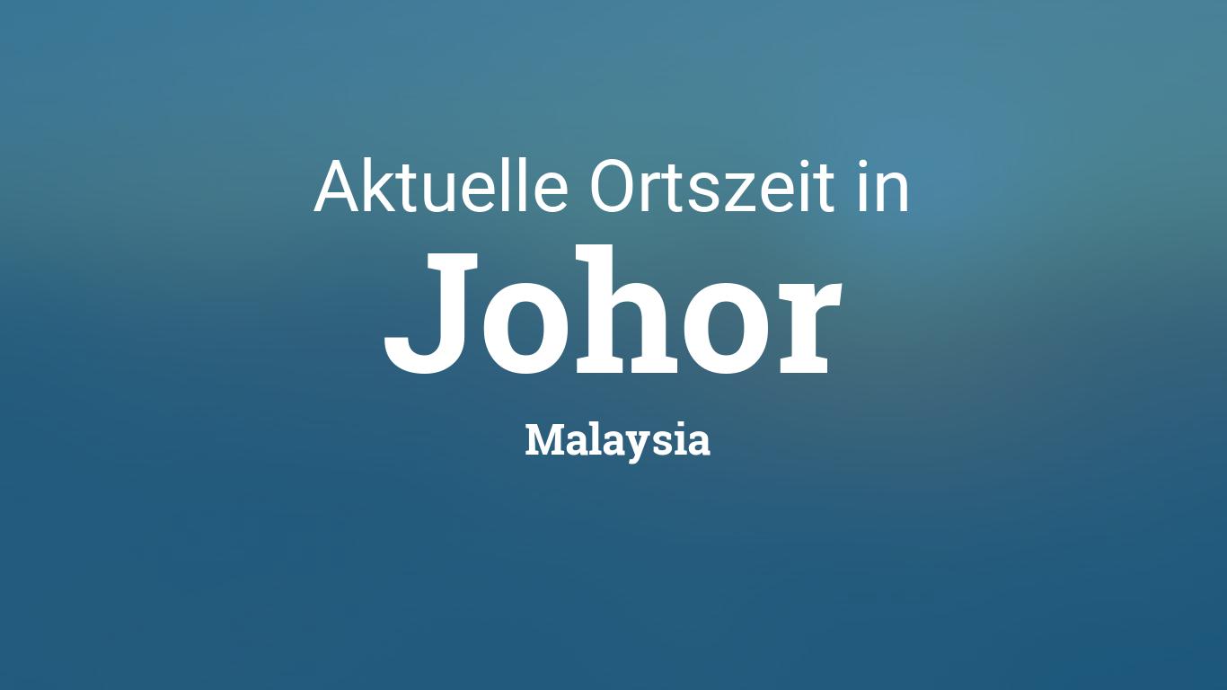 Uhrzeit In Malaysia