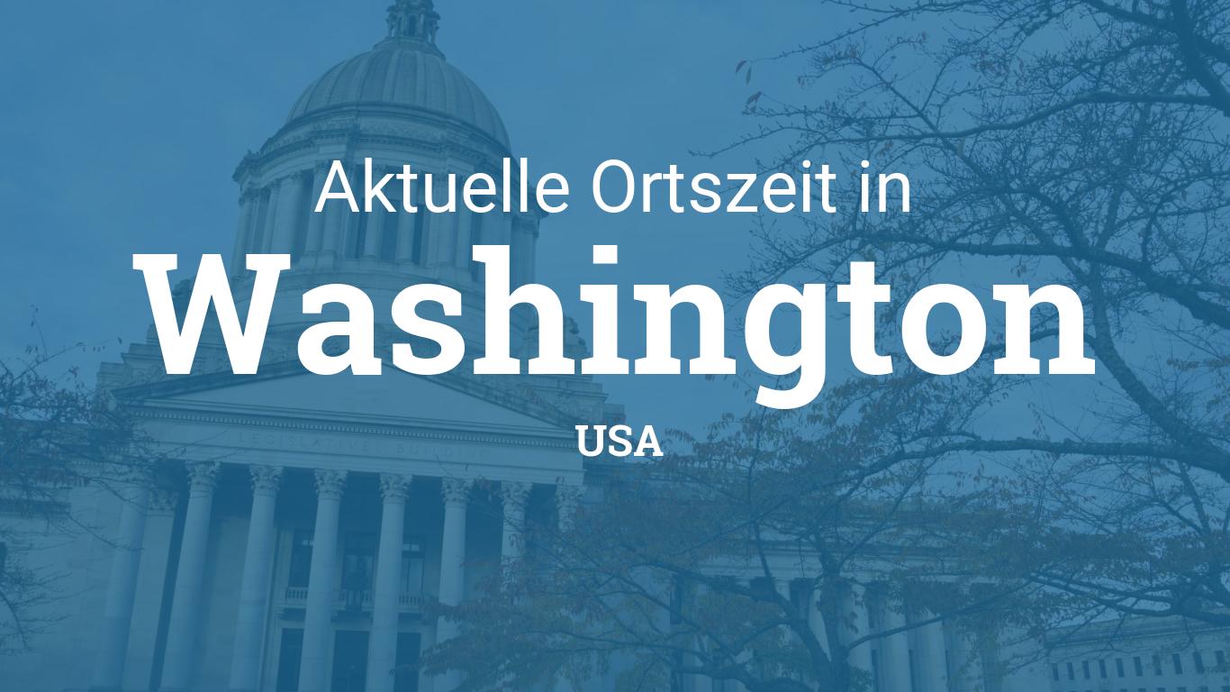 Uhrzeit In Washington