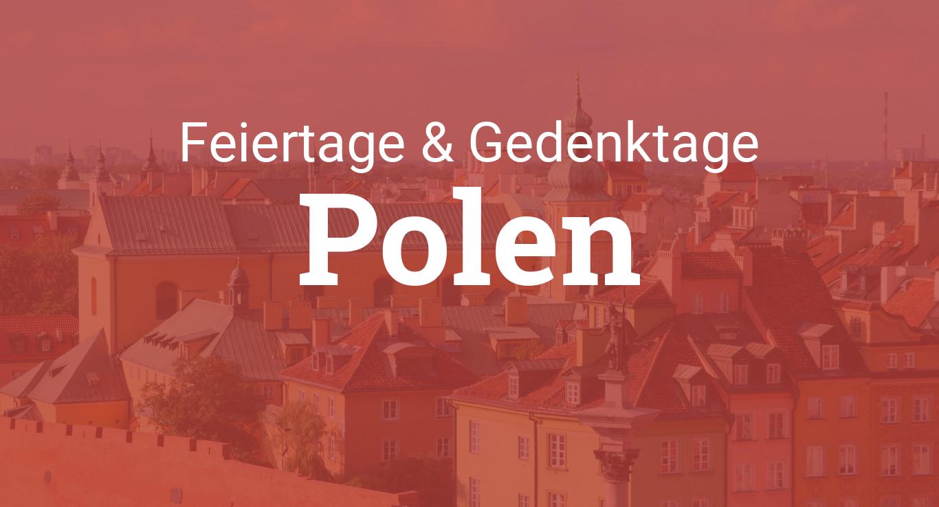 feiertage polen 2019