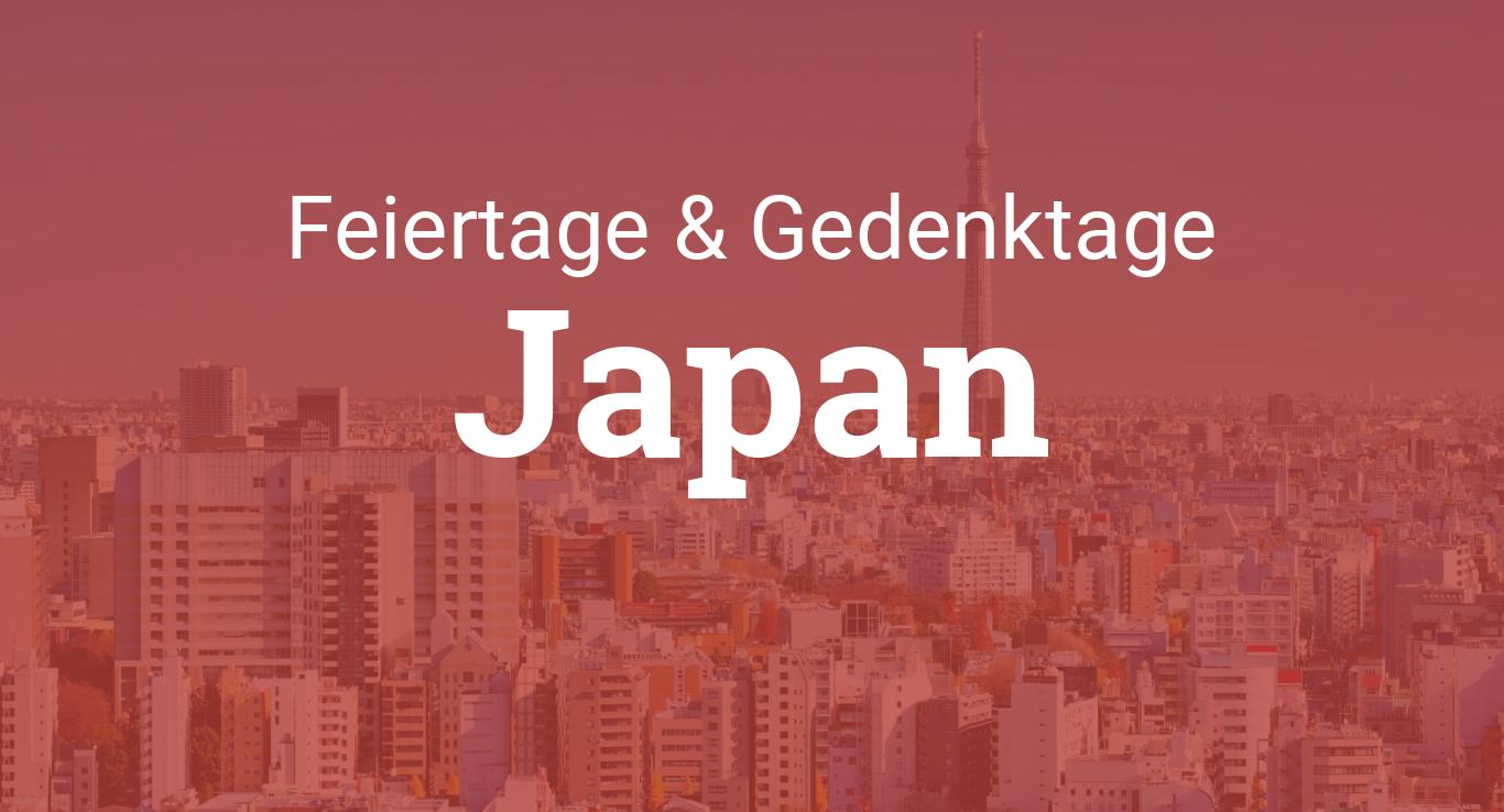 Feiertage Japan 2021