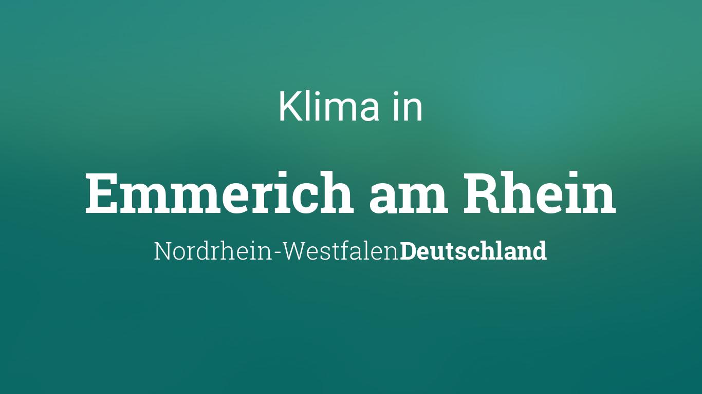 Wetter Emmerich Am Rhein