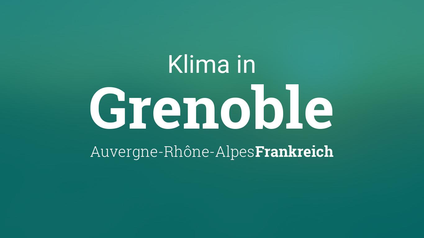 Wetter Grenoble
