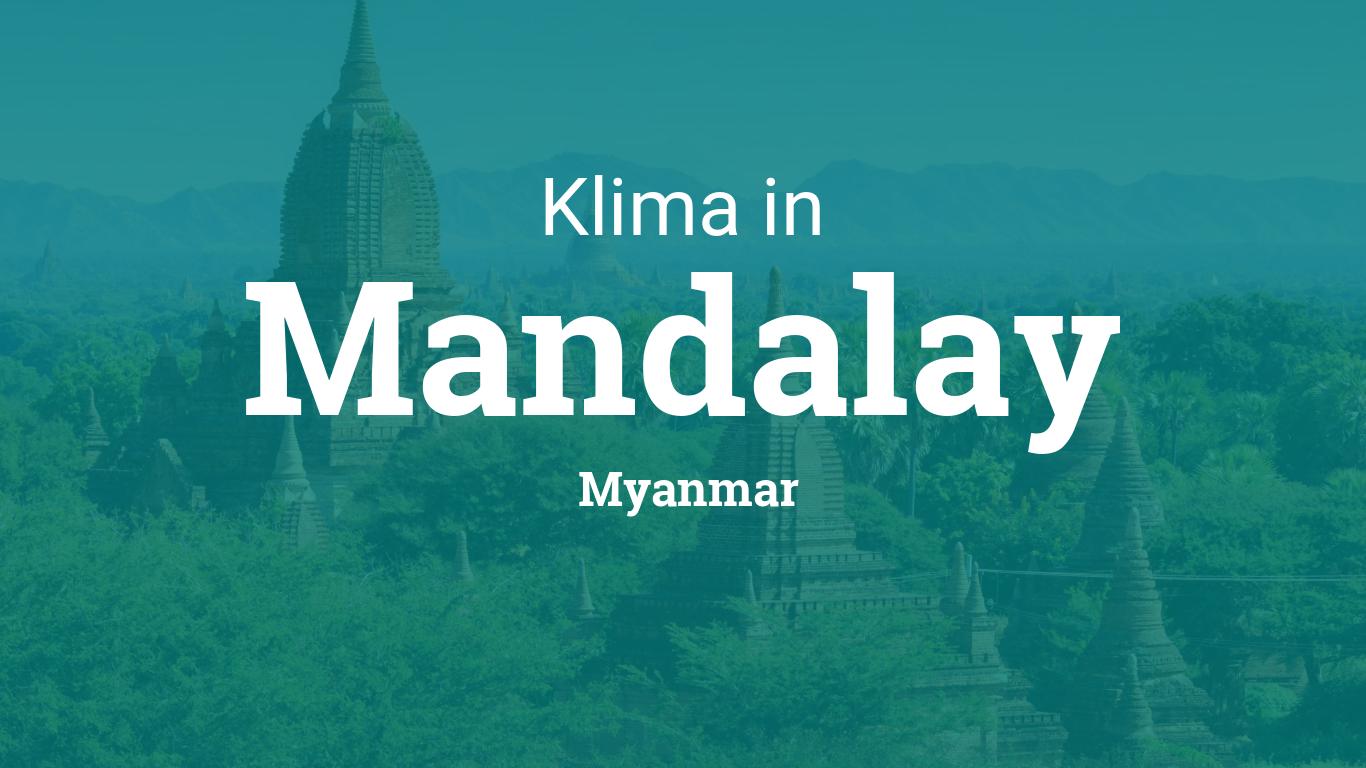 Wetter Mandalay