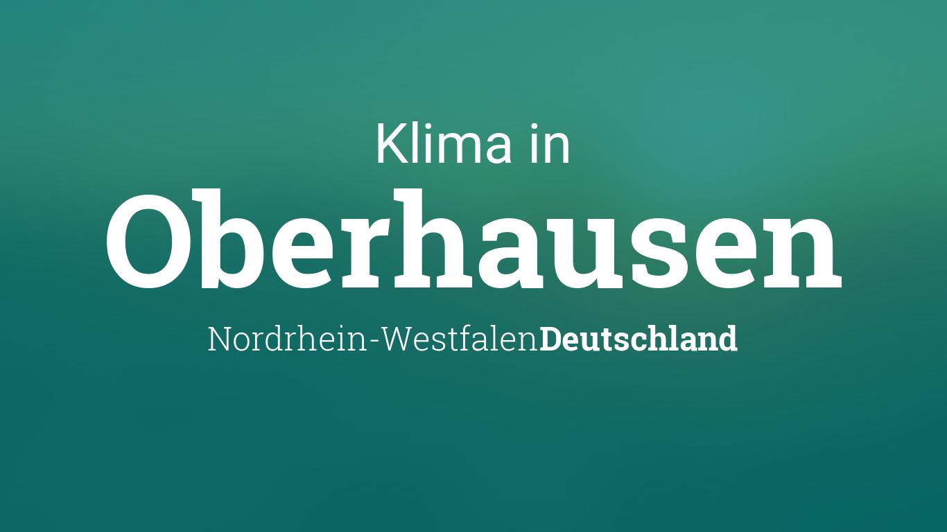 Wetter Oberhausen