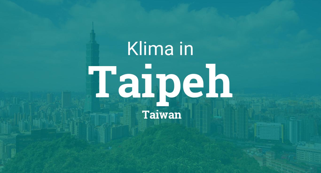 Taipeh Wetter