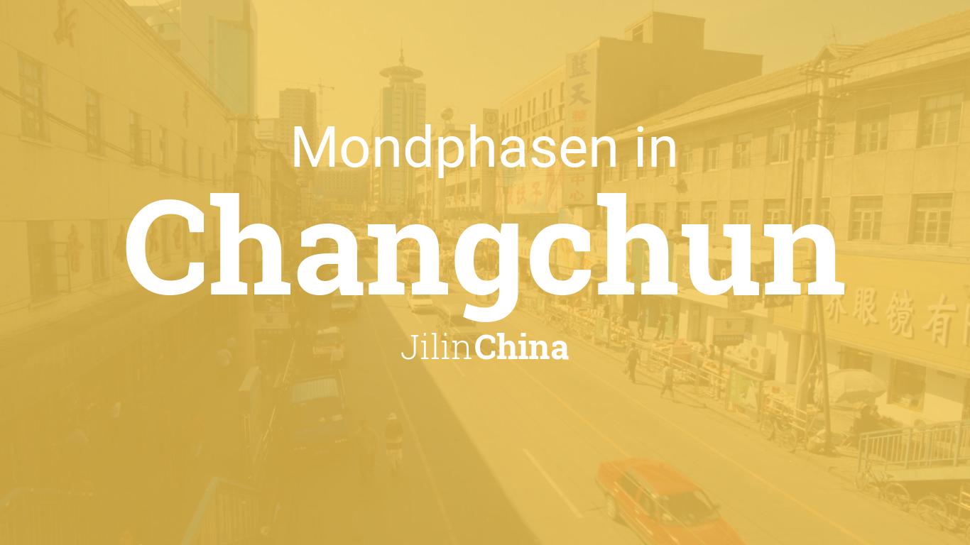 Changchun Uhrzeit