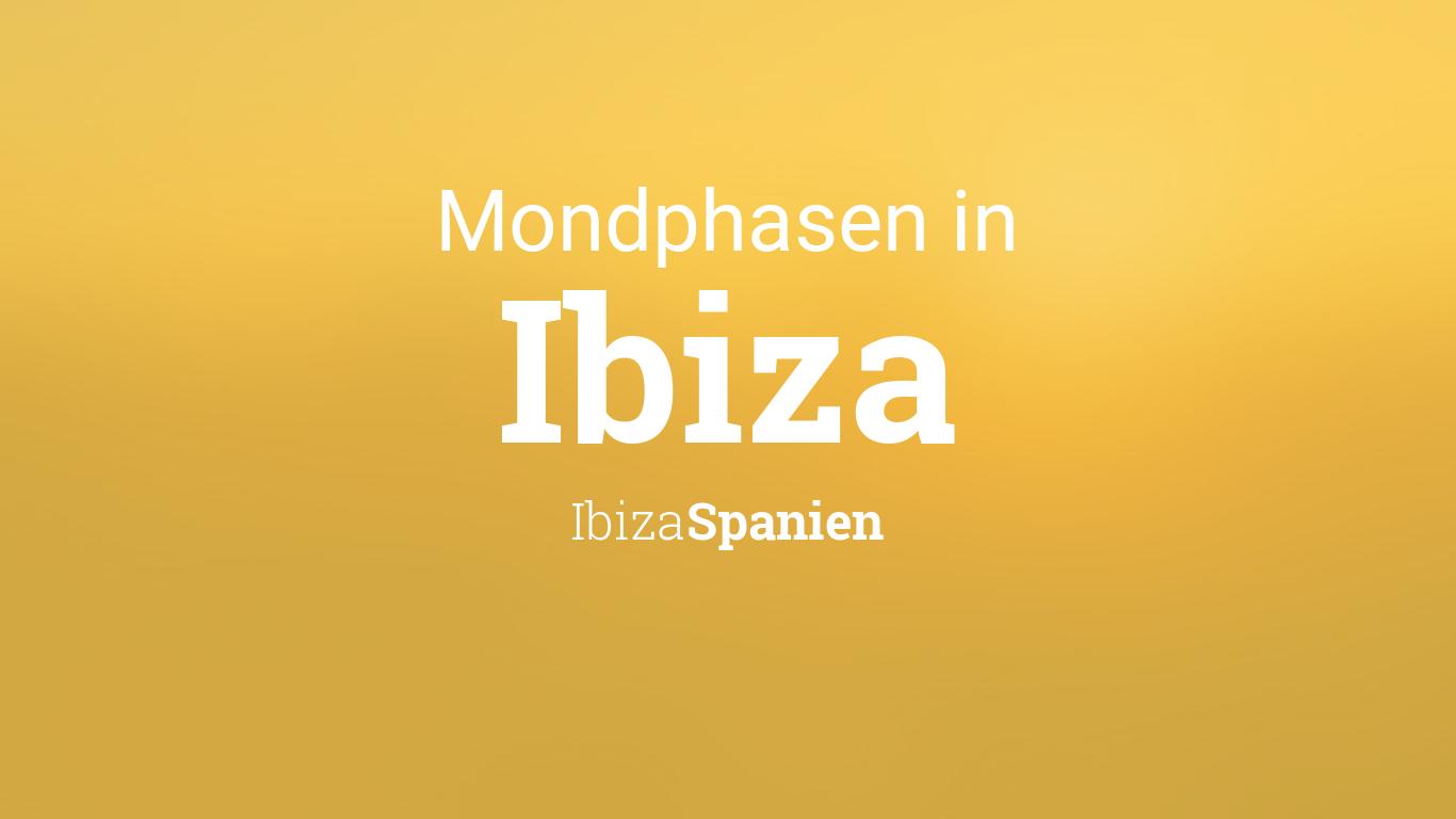 Uhrzeit Ibiza