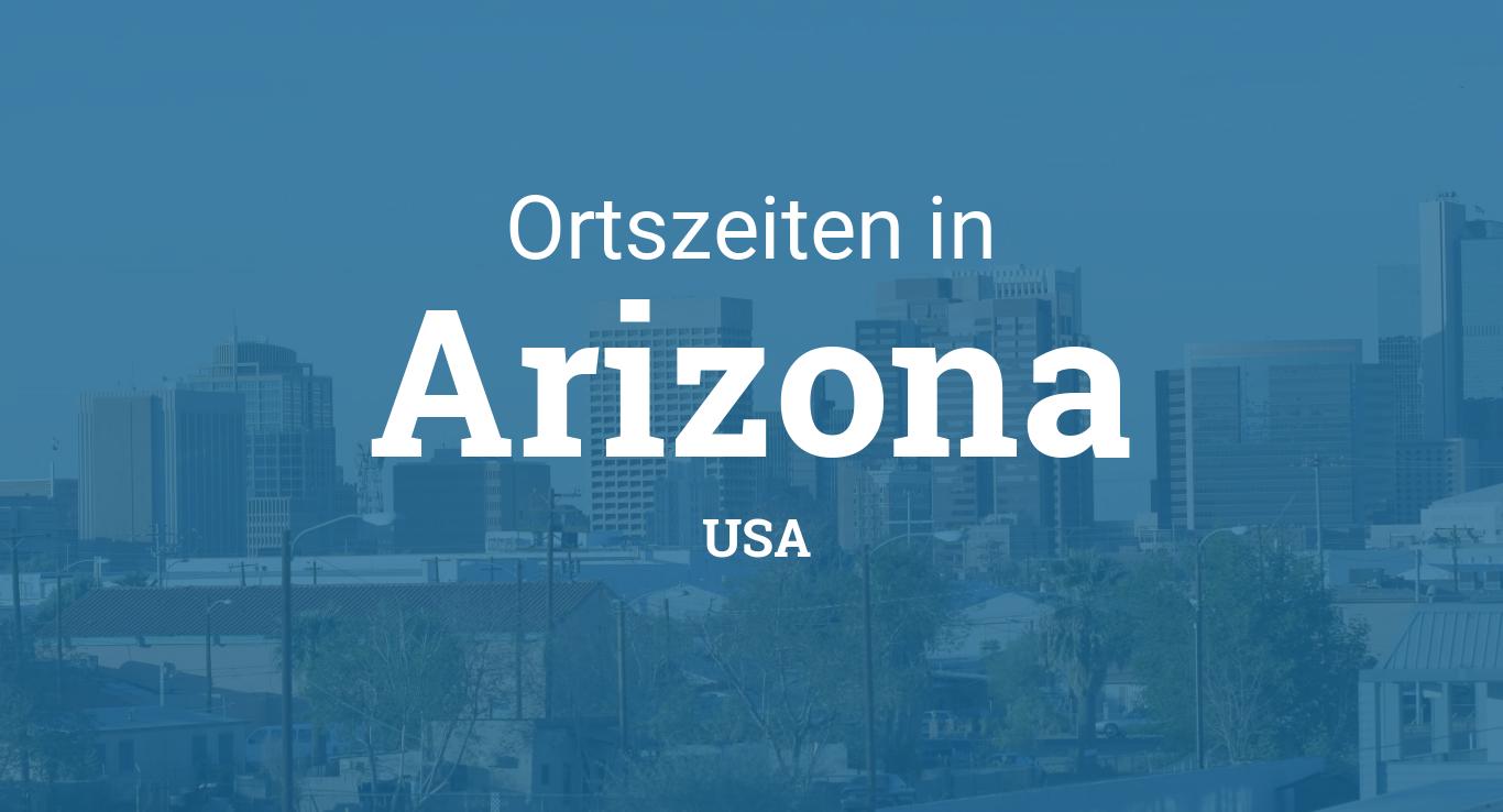 Uhrzeit Arizona