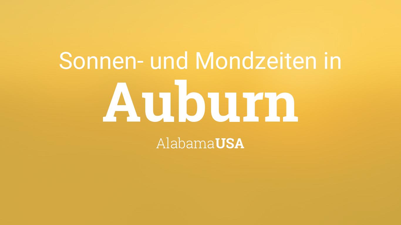 Zeitzone Alabama