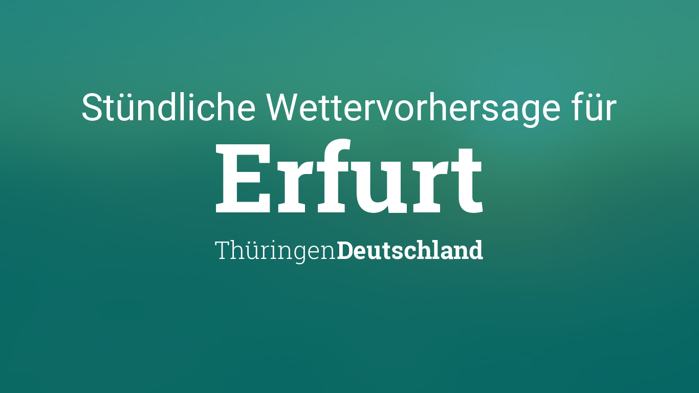 Erfurt Wetter.Com