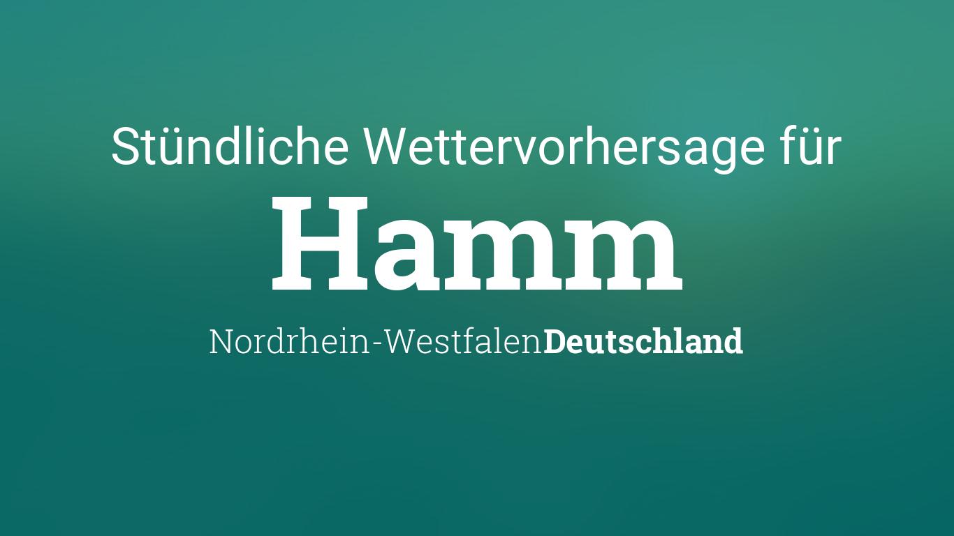 Wetter Heute In Hamm