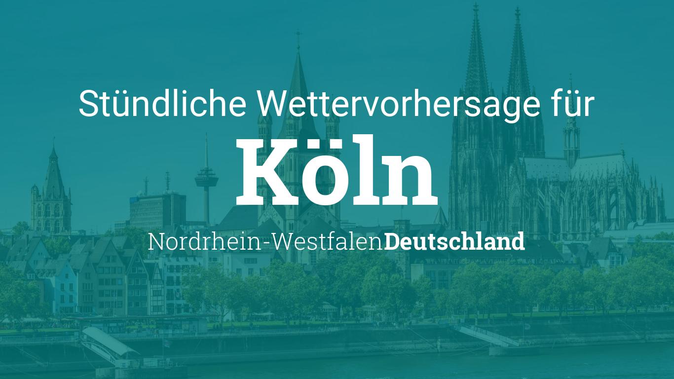 Wetter Köln stündlich