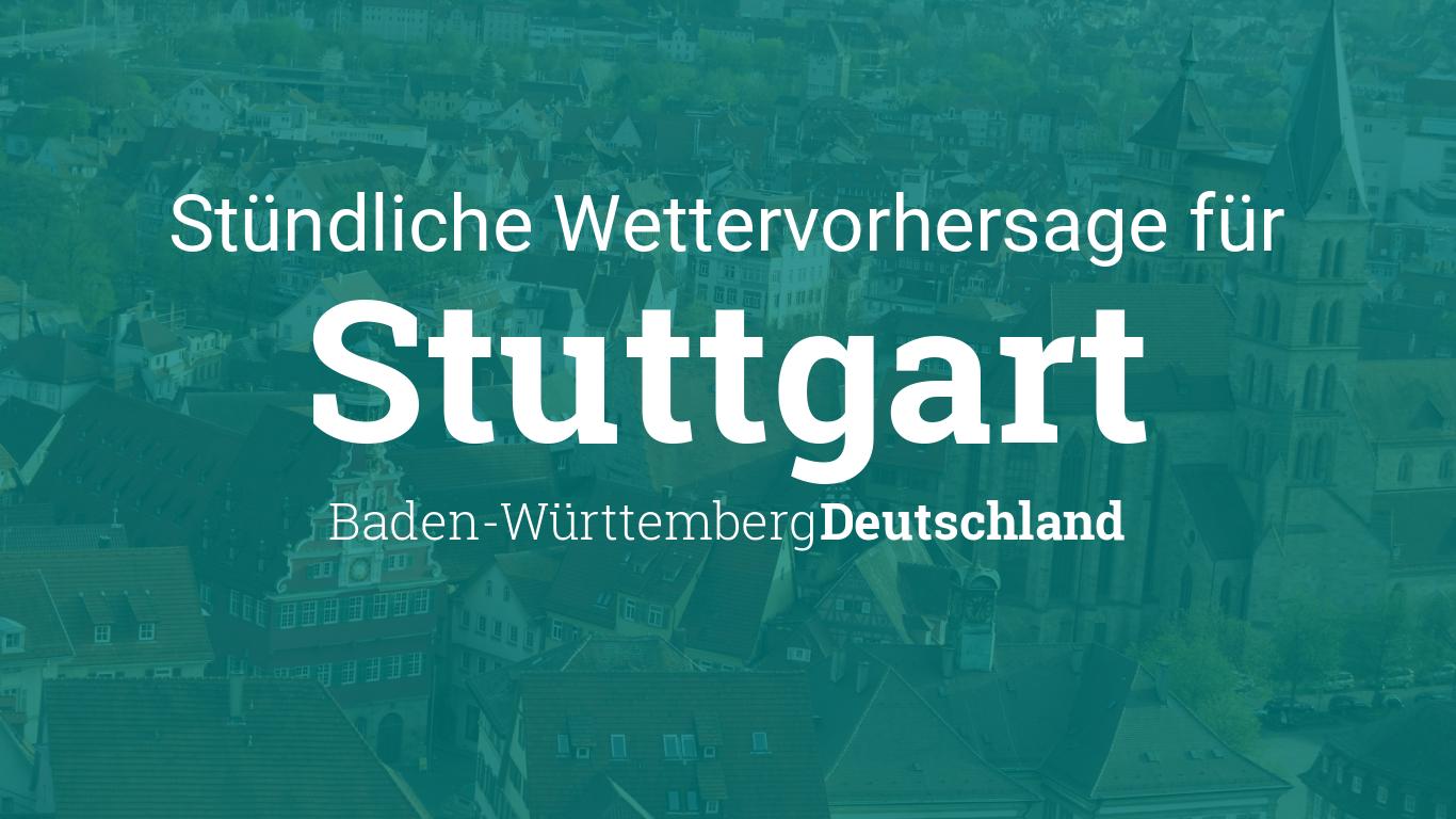 Wetter Stuttgart stündlich