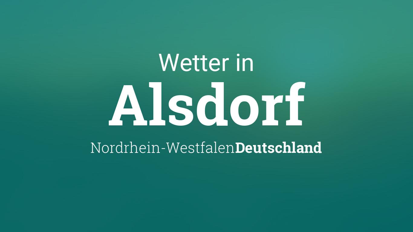 Wetter In Alsdorf