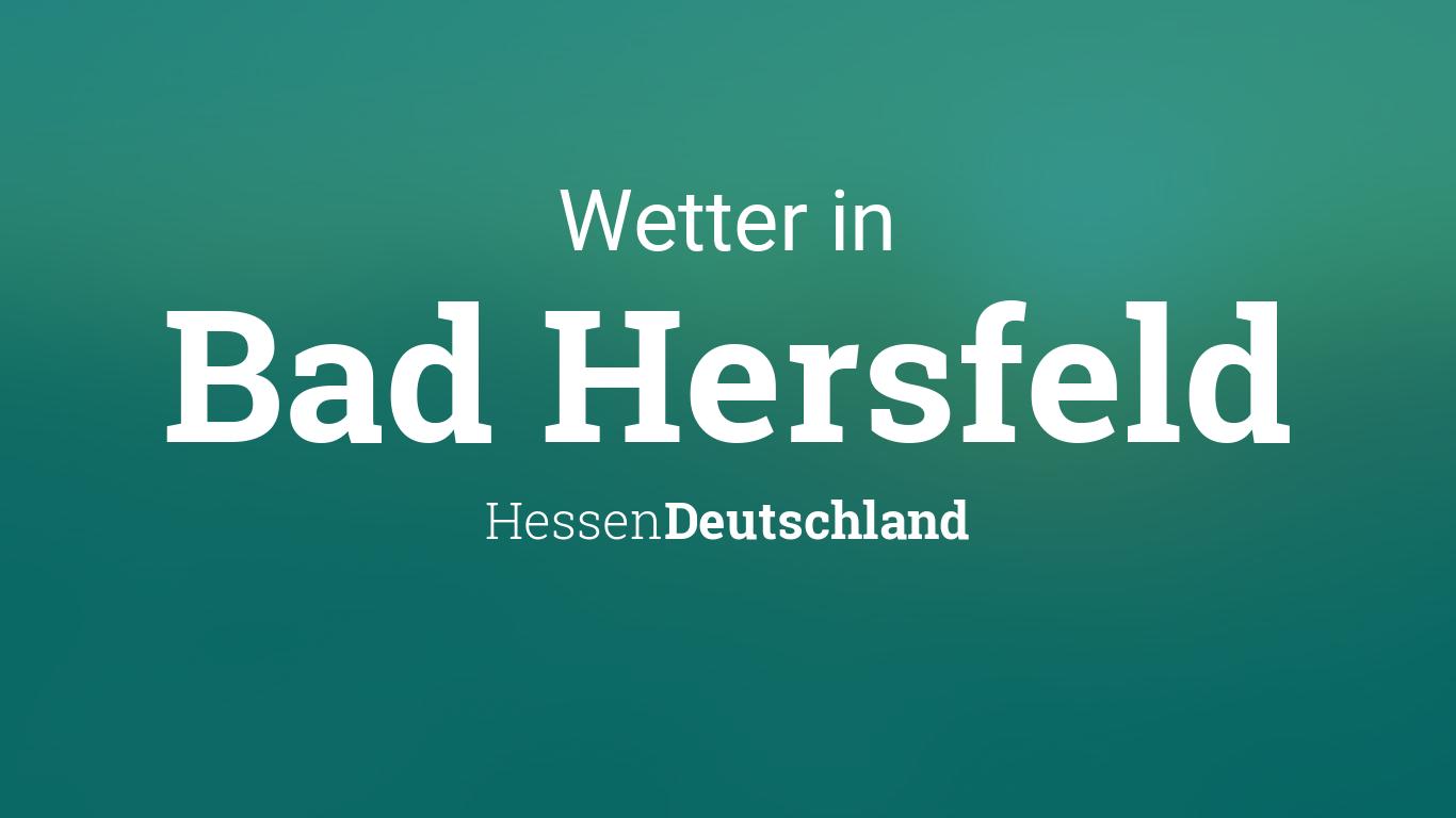 Wetter Heute Bad Hersfeld