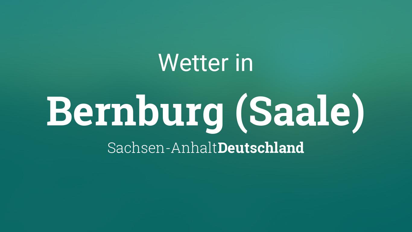 Wetter In Bernburg