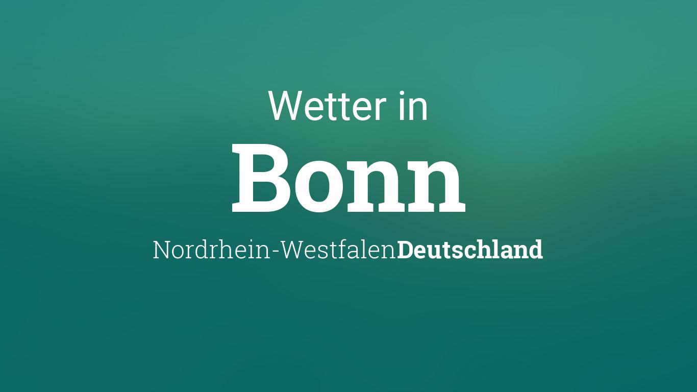 Wetter Bonn Morgen