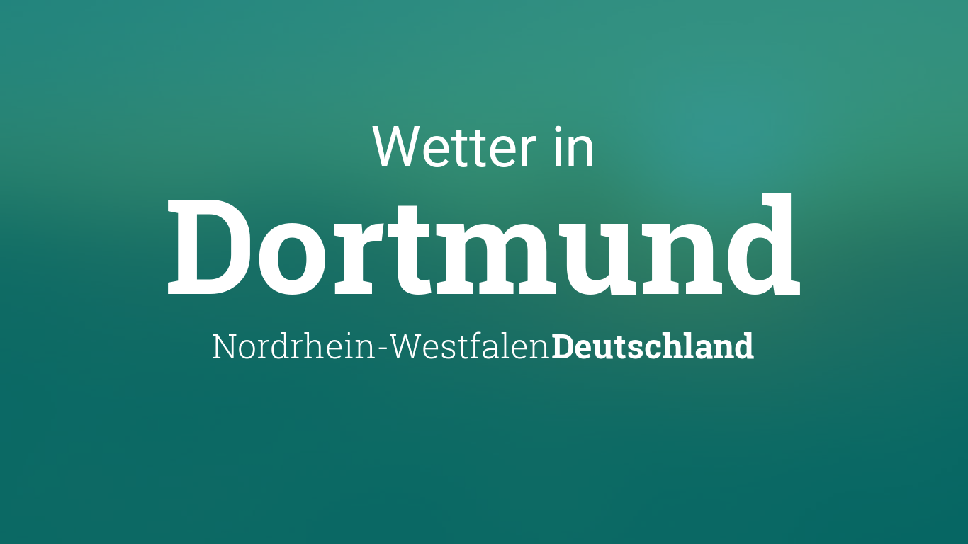 Wetter Heute Dortmund