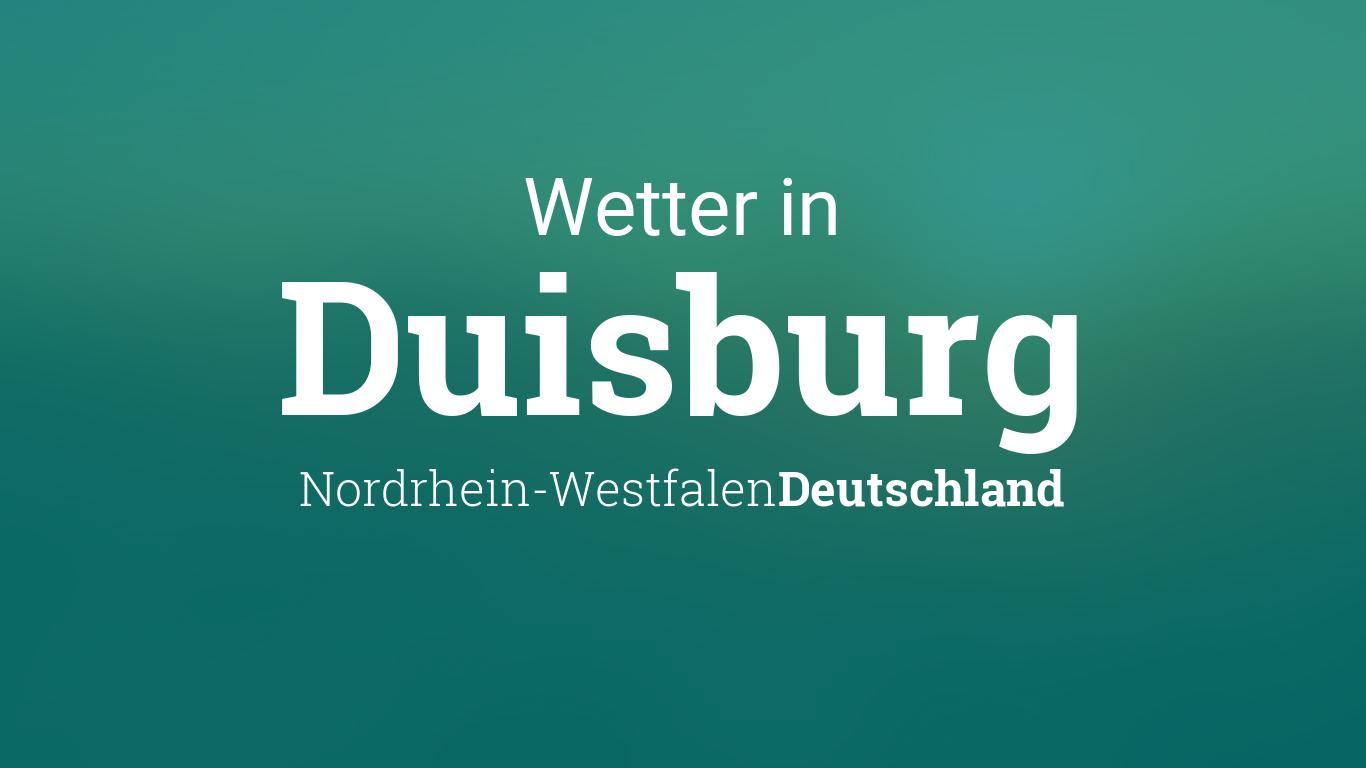 Duisburg Wetter