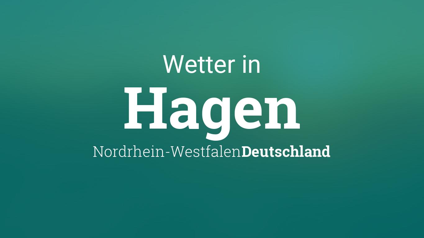 Wetter Heute In Hagen