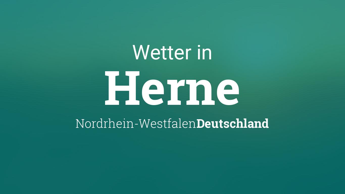 Wetter Herne Nordrhein Westfalen Deutschland Heute Und Morgen