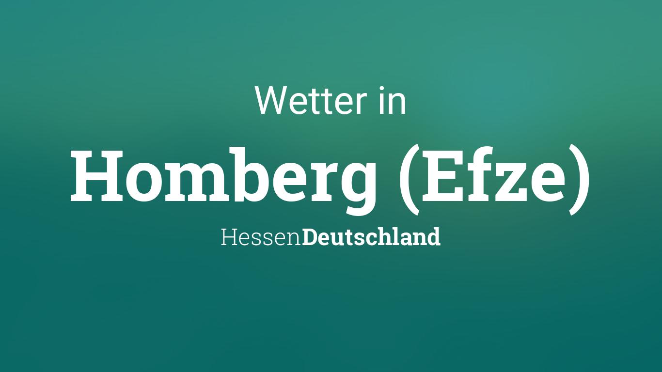 Wetter Homberg