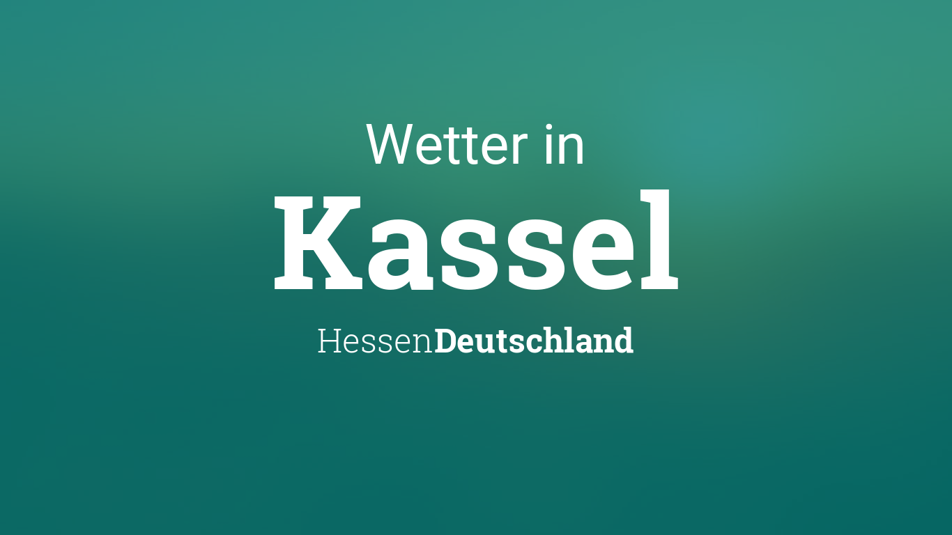 Wetter Kassel 7 Tage