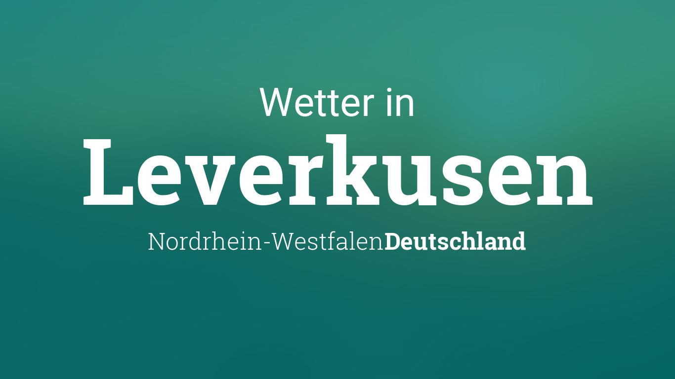 Wetter Heute Leverkusen