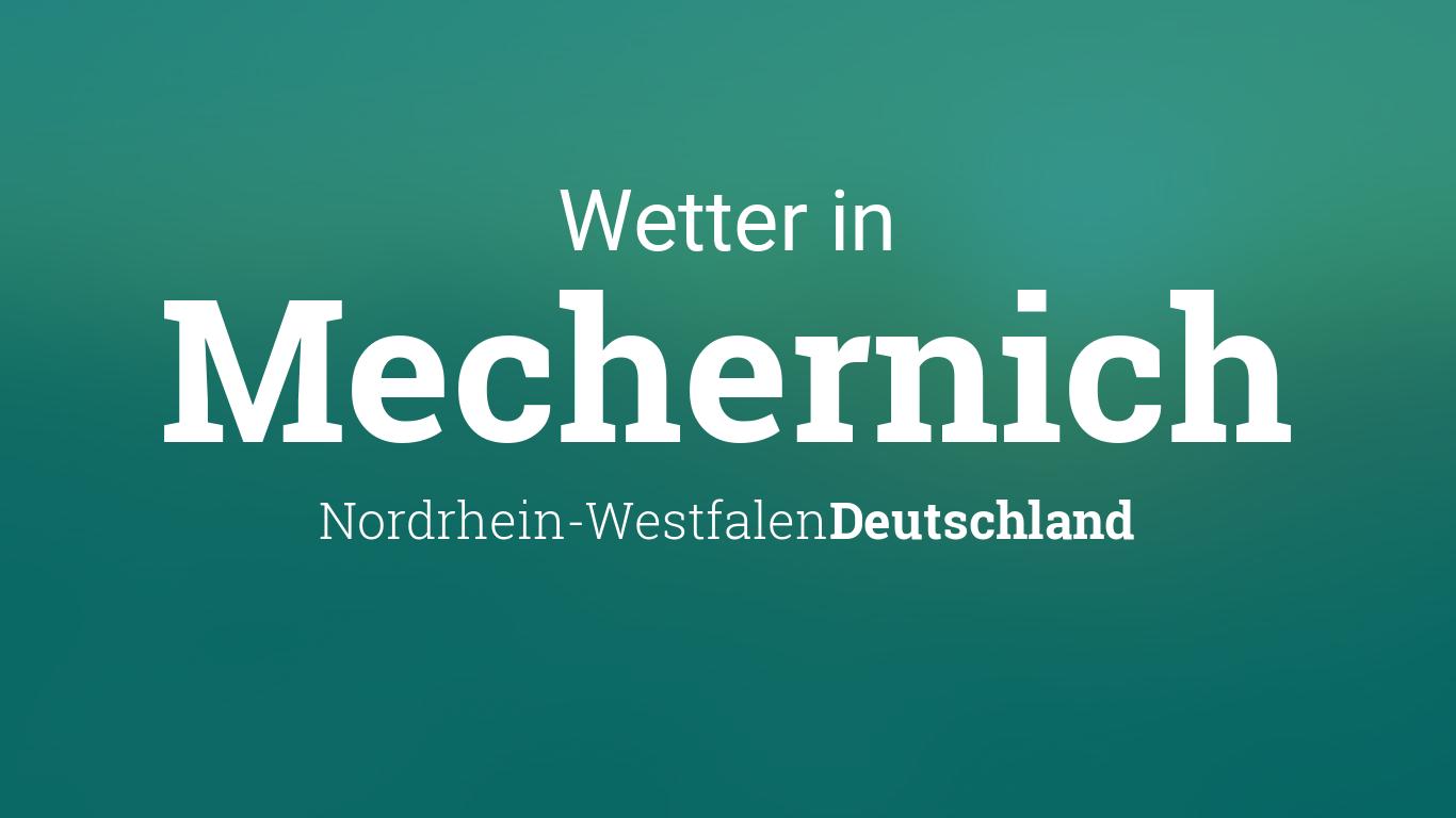 Wetter In Mechernich